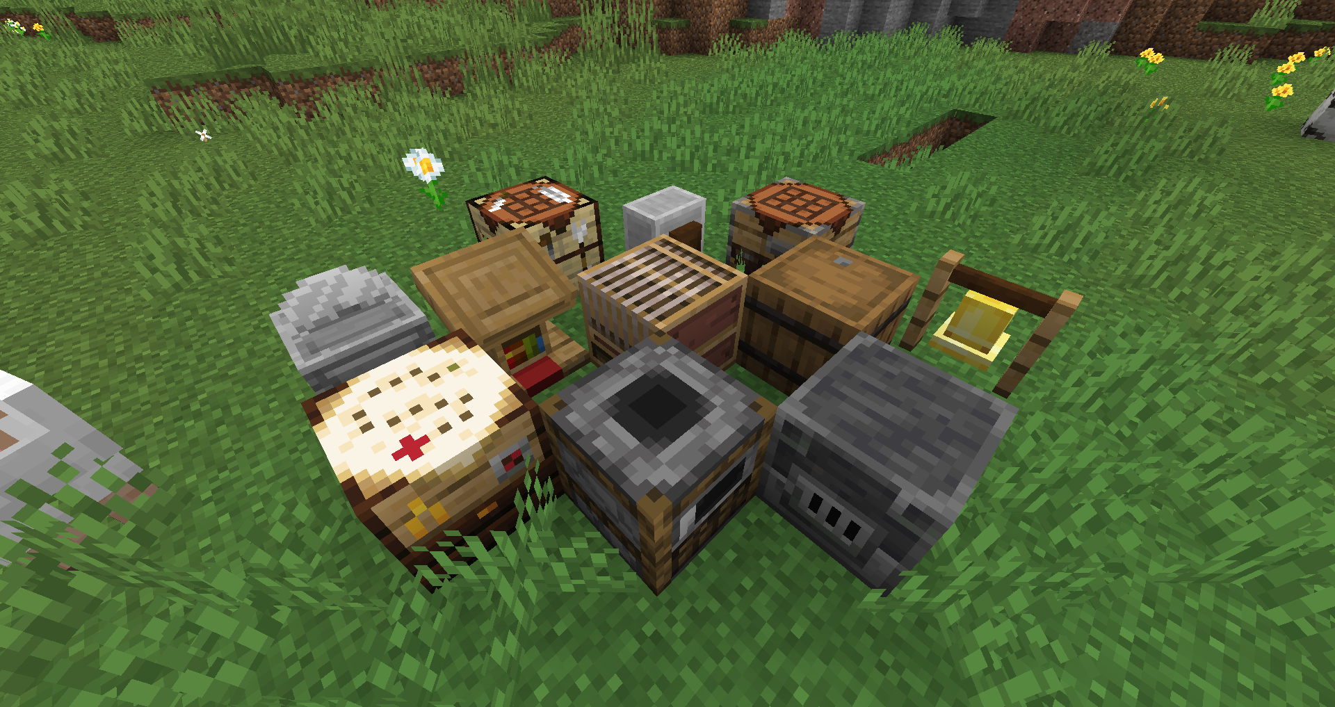 Minecraft Bedrock 1 9 brings more blocks, flowers, and experiments